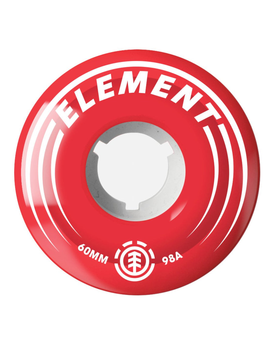 ELEMENT CRUISER WHEELS RED 78A (60MM) - Seo Optimizer Test