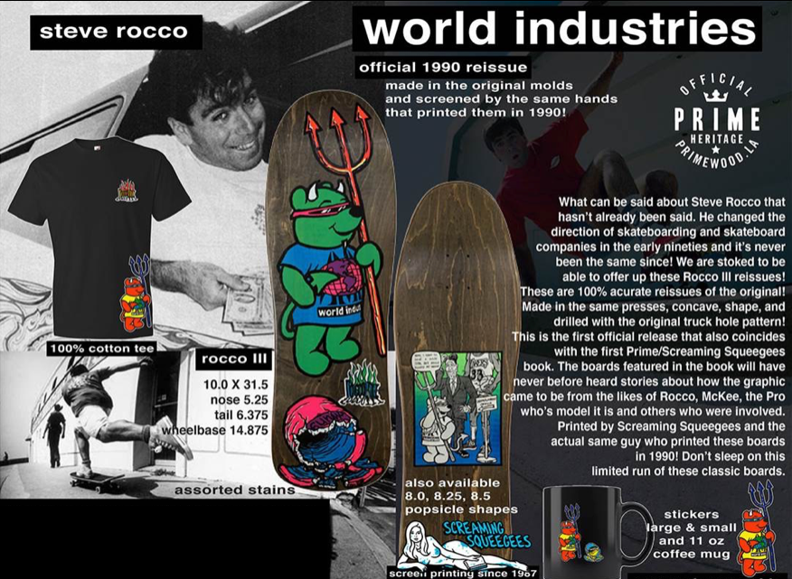 PRIME WORLD INDUSTRIES ROCCO 3 OLD SCHOOL RE-ISSUE - Seo Optimizer Test