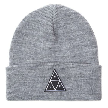 HUF TT CUFF BEANIE GREY HEATHER - The Drive Skateshop