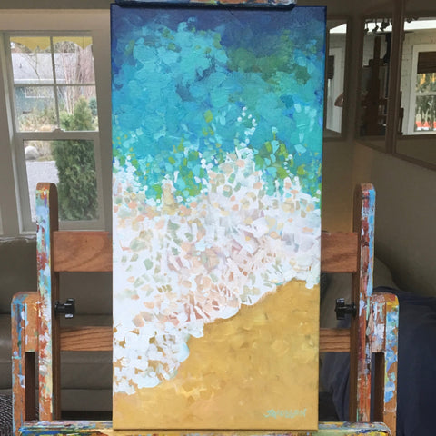 Coastal Lace Painting