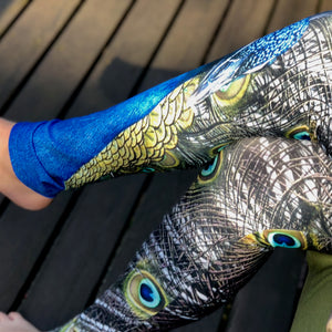 Proud as a Peacock Leggings - Wild & Roaming