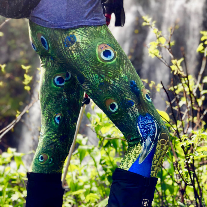 Pair of Peacocks Yoga - Wild & Roaming