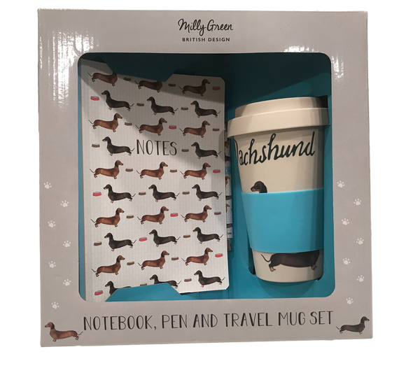 Dachshund Lover Gift Set