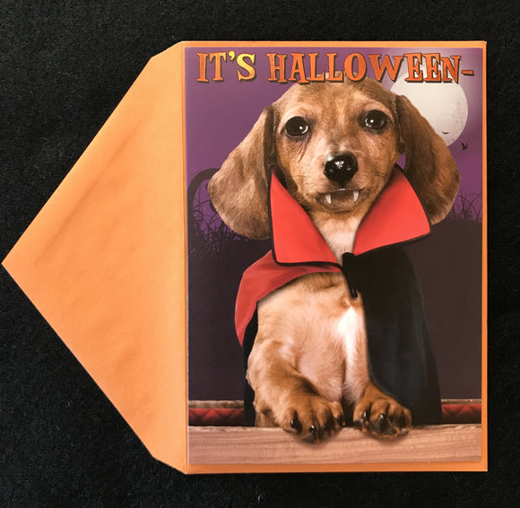 Count Dachula Halloween Card