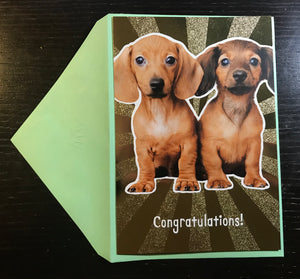 Congratulations Engagement or Anniversary Card