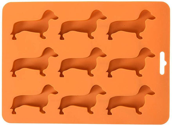 Dachshund Silicone Ice Cube Tray/Mold