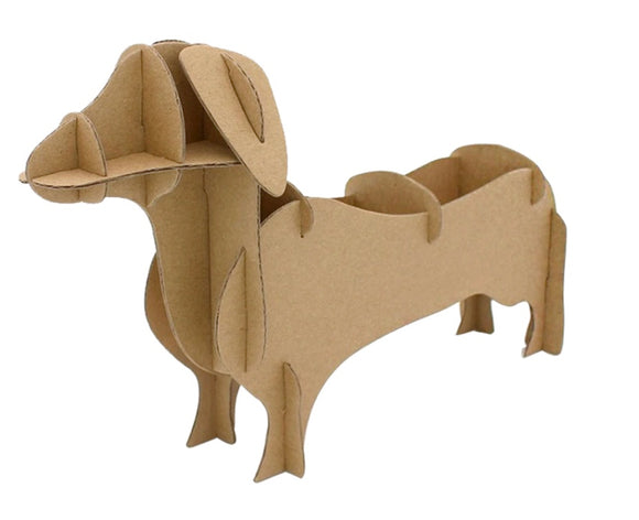 Animal Box Cardboard Dachshund