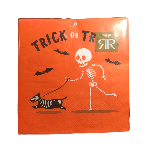 Trick or Treat Cocktail Napkins (Package of 40)