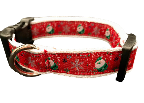 Holiday Santa Collar