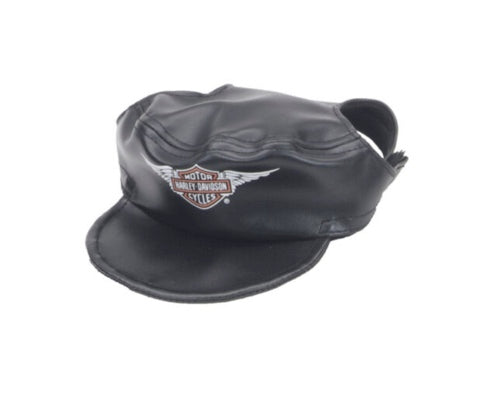 Harley-Davidson Black Leather Hat