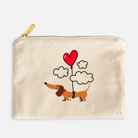 Love is In the Air Cosmetic Bag