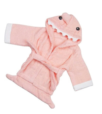 Hooded Bath Towel Robe
