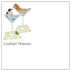 Cocktail Wieners Post-It Notes