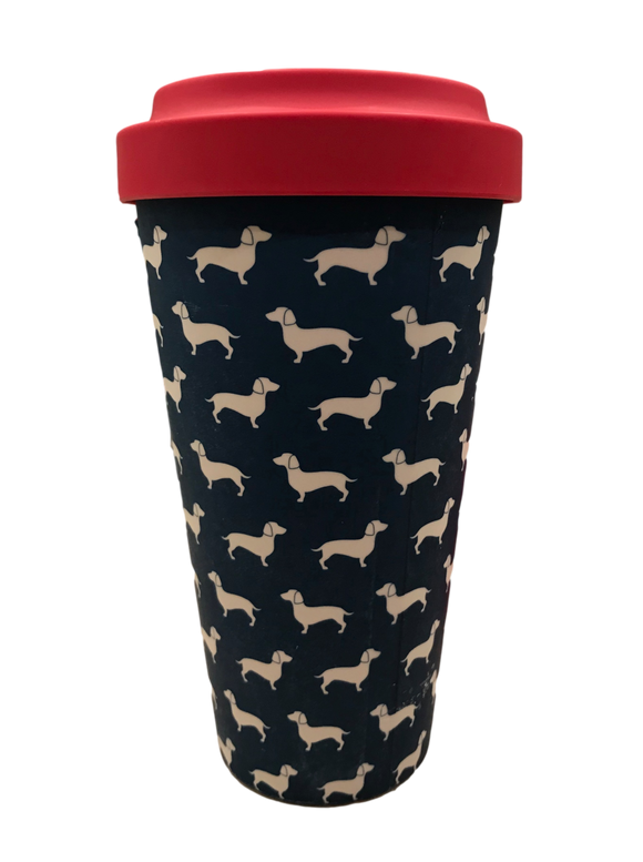 Little Dachshunds Reusable Eco Coffee Cup