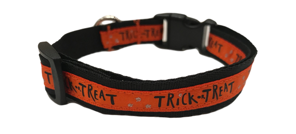 Trick-or-Treat SaucyDog Collar