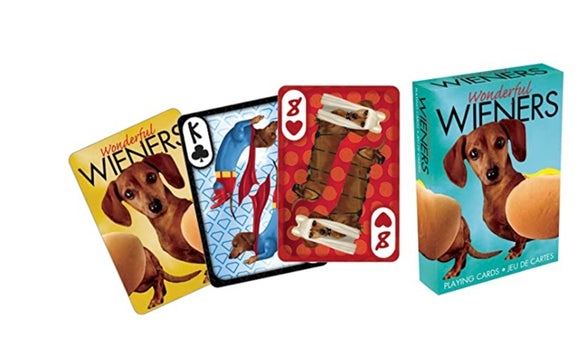 Wonderful Wiener Dogs Playing Cards