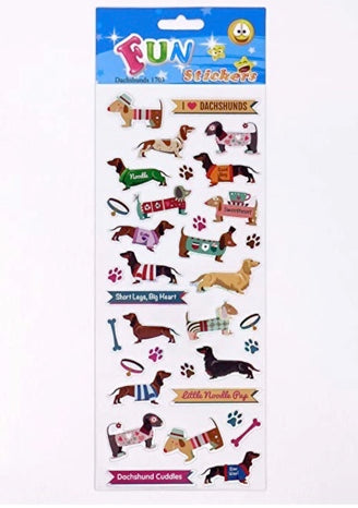 Dachshund Fun Stickers