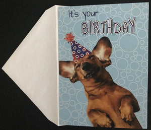 It's Your Birthday Birthday Card