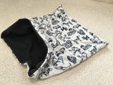 Gray Multi-Dog with Black Fleece Lining Weenie Warmer *Limited Edition*