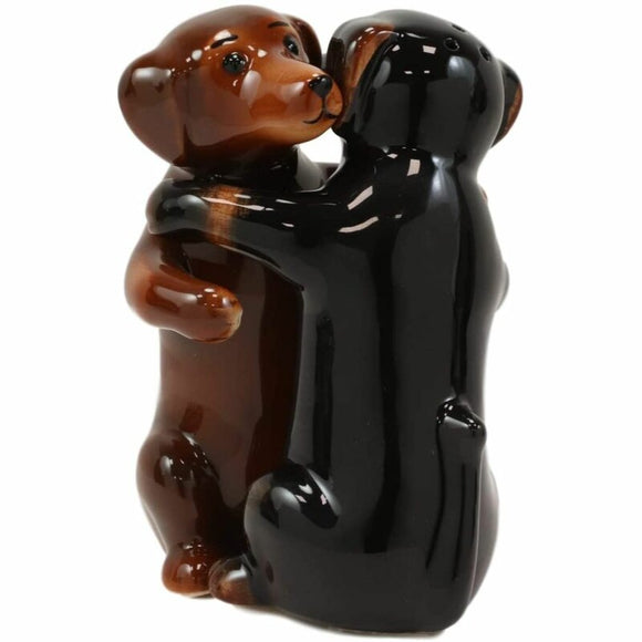 Dancing Dachshund Salt & Pepper Shakers