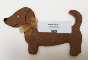 Dachshund Gift Card Holder