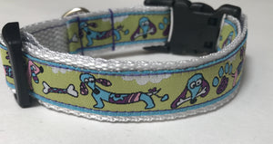 Cartoon Dachshunds Collar