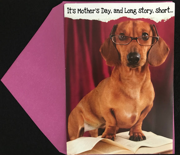 Long Story Short Mother's Day Card