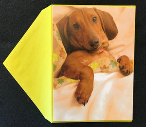Wienerful Thanksgiving Card