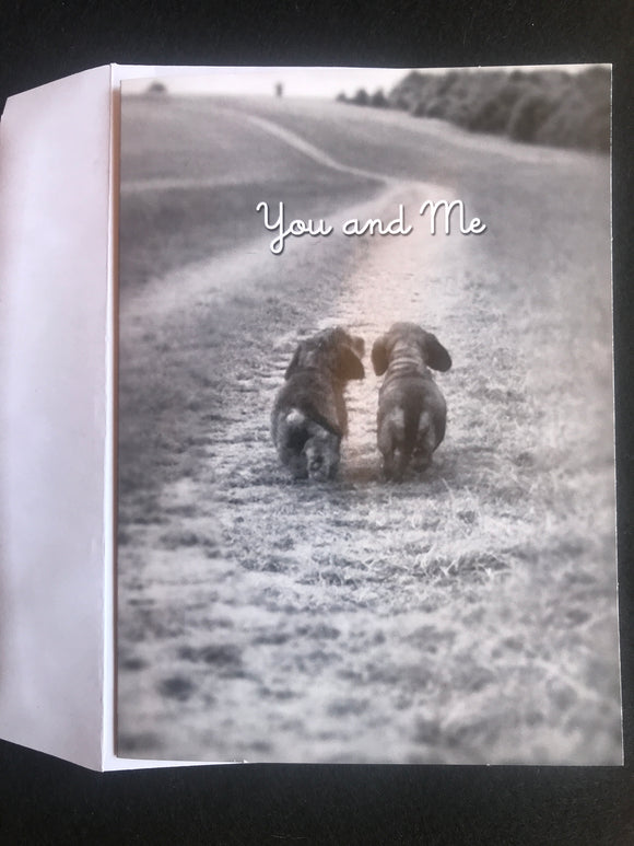 You & Me Birthday Card