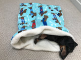 Chocolate Mint Dachshunds Weenie Warmer