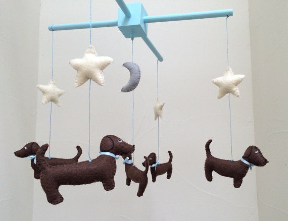 Dachshund Mobile - Baby Mobile