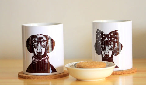 Mr. or Mrs. Dachshund Coffee Mug