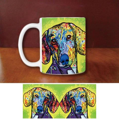 Pretty Dachshund Coffee Mug