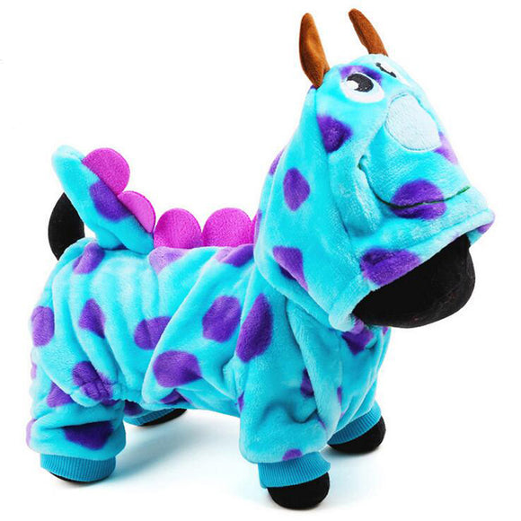 Blue Dinosaur Costume