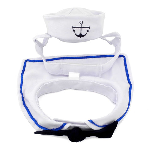 Sailor Hat with Collar