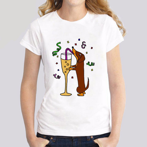 Cheers! Dachshund T-Shirt