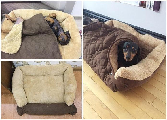 Convertible Dog Bed