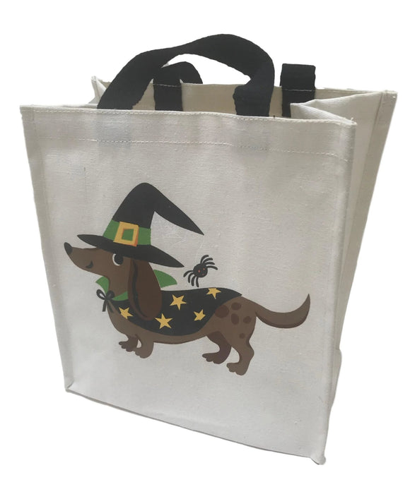 Dapple Dachshund Reusable Canvas Bag