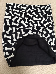 White Bones/Black Fleece Summer Weight Weenie Warmer