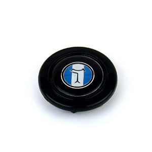 03002B - EMBLEM-STEERING WHEEL-BLACK