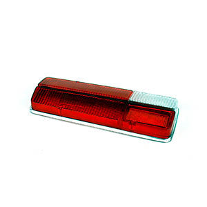 16016A - LENS TAILLIGHT RH (RED w/CLEAR)