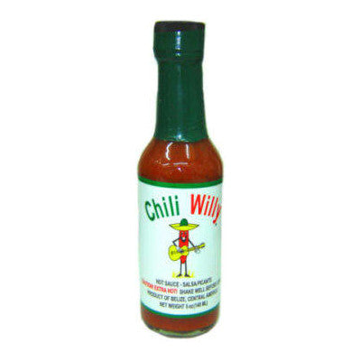 Chilly Willy All Natural Hot Sauce, 5 oz.