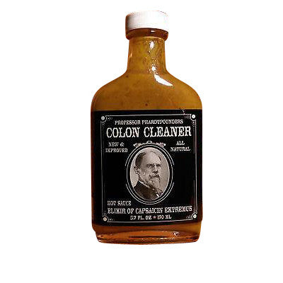 Colon Cleaner Island Mustard Hot Sauce, 5.7oz.