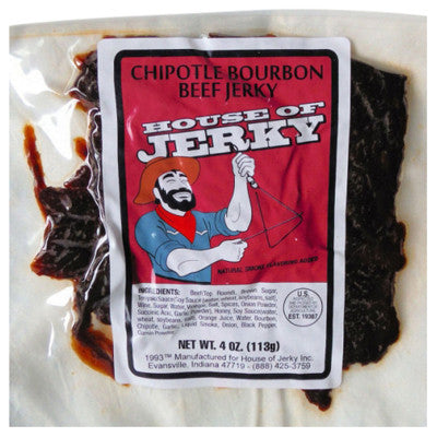 Chipotle Bourbon Beef Jerky, 4.0 oz. bag