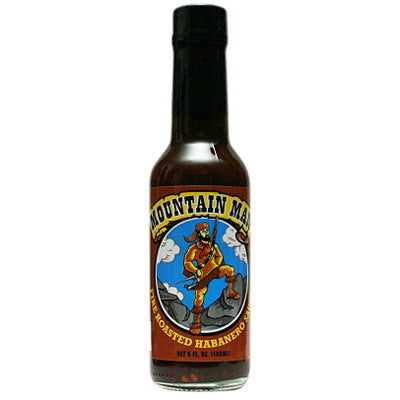 Mountain Man Fire Roasted Habanero Hot Sauce, 5 oz.