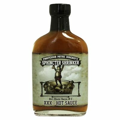 Sphincter Shrinker XXX Hot Sauce, 5.7 oz.