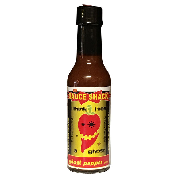"Sauce Shack's ""I think I See A Ghost"" - Ghost Pepper Sauce, 5 fl oz."
