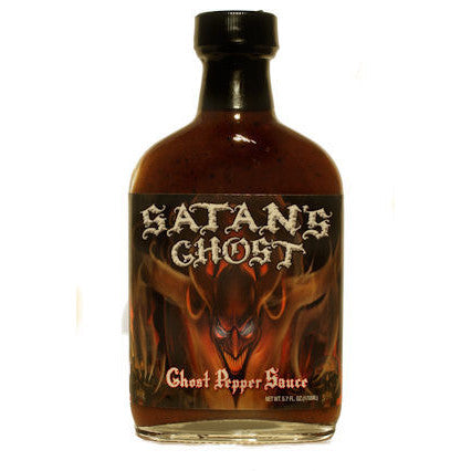 Satans Ghost - Ghost Pepper Sauce, 5.7 oz