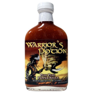 Warriors Potion Peri Peri Pepper Sauce, 5.7 oz