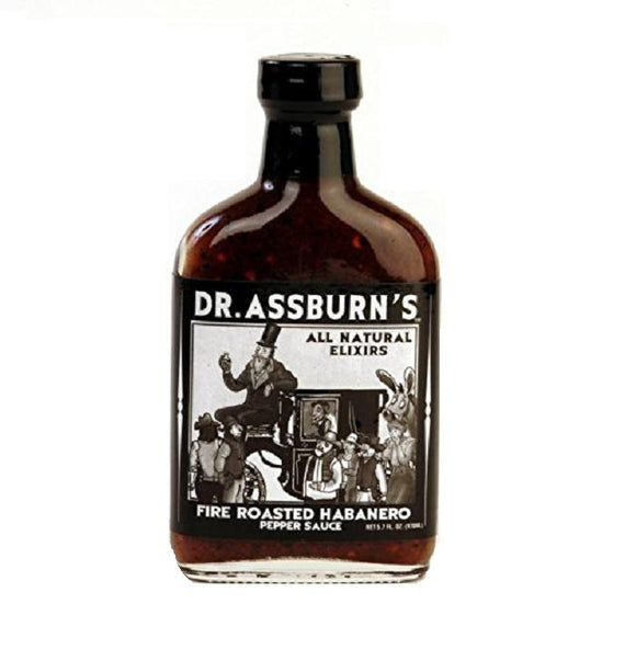 Dr Assburn's Fire Roasted Habanero Sauce, 5.7 oz.